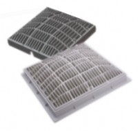 Waterway 12 inch x 12 inch main drain cover grate for 12 x 12 floor drain grate