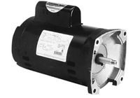 Replacement Pump Motors: Square Flange, Threaded Shaft, 56Y Frame Thumb Image
