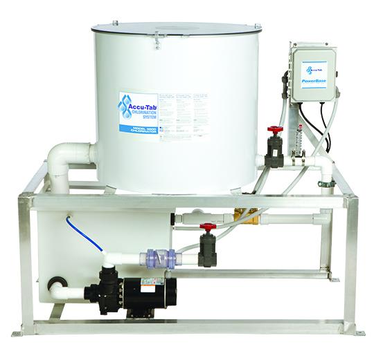 Accu Tab Powerbase 3500 Calcium Hypochlorite Chlorinator