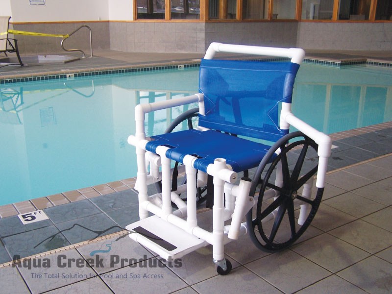Aqua Creek Pool Access Chair 400 Lb Capacity