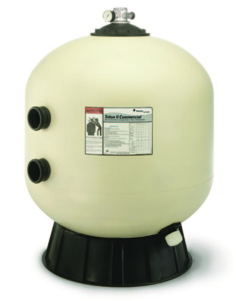 Pentair Triton Sand Filter W O Valve Tr40