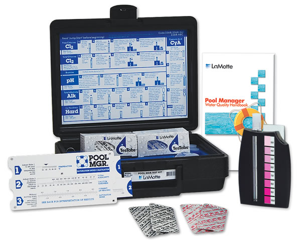 Lamotte pool mgr test kit - Swimming pool water testing calculator ...