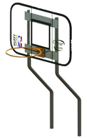 Spectrum Aquatics Dual Post Basket Ball Hoop Thumb Image