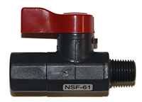 "1/4"" Ball Valve, MPT x FPT Image"