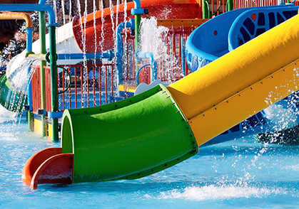 Water Slides & Play Features Image