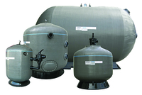 Waterco Horizontal & Vertical Commercial Sand Filters Thumb Image